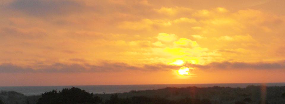 Sunset Ocean Shores WA